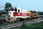 Indiana RR CF7 #200 ex-ATSF F7A Wrecked 12/89 Seen