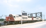 Close SD60 Siblings SOO 6035 and 6036, Calumet Yard