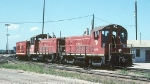 TRRA SW1200s 1239 and 12139 and Caboose 588