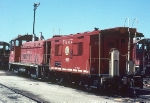 TRRA Caboose 612 and 1220 SW1200