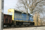 CSX 6147 on local train