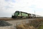 HLCX 7180 departs
