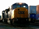 CSX 8729 Markers