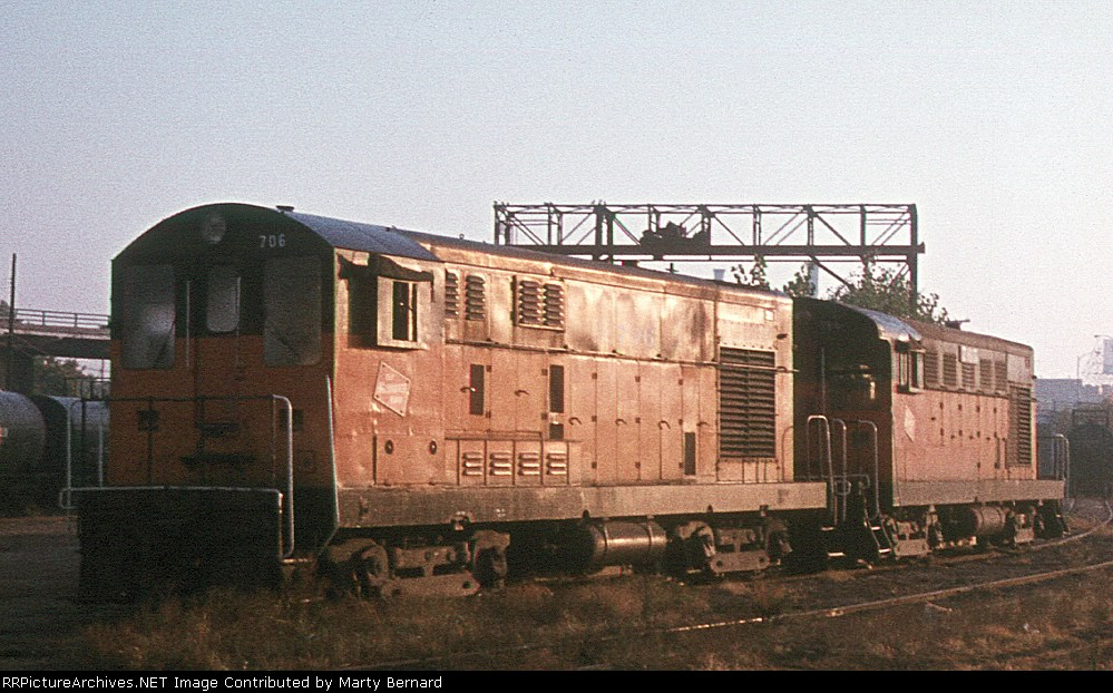 Milwaukee Road's Fairbanks Morse #s 706 and 765