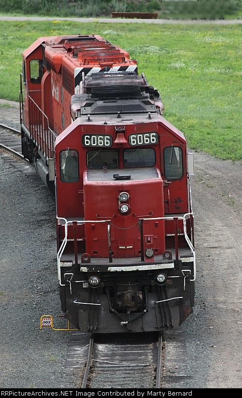 CP 6066 and 5747, Humbolt Yard