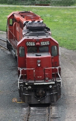CP 6066 and 5747, Humbolt Yard