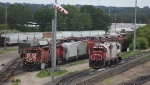 CP 6080 and SOO 4413 in Humbolt Yard