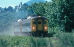 Via 6134 and 6133 on Vancouver Island in 1992