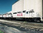 KCS SD 40 628 and SD 40-2 682