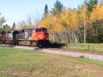 CN 2237 leads manifest SB on CN Superior Subdivision