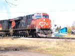CN 2240 leads # 346 SB on a Sunny day.
