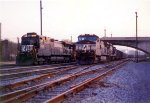 NS Coal Drags Layove by The Old Ex Virginian RR Station & Yards