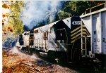 Winchester & Western Train Working Hard  uipgrade