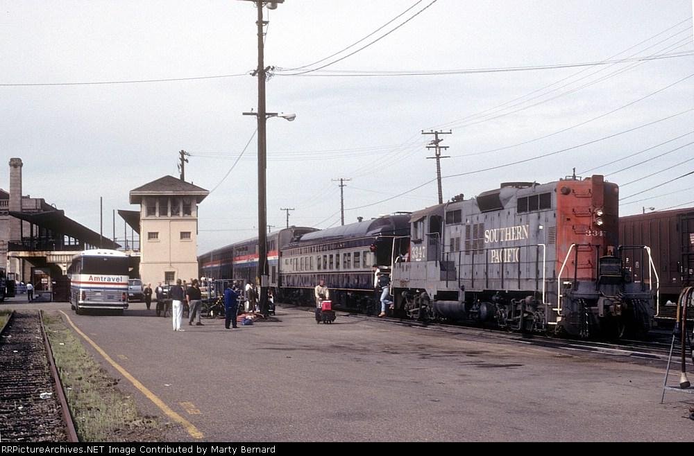"SP 3347 Adding TAMA 33 ""Tamalpais"" to Amtrak #11"