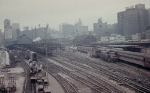 Looking Into the Dearborn Station Train Shed in 1964
