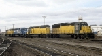 C&NW 5097 and Three More EMD Products at Proviso Yards
