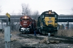 C&NW 6883 and SOO 6052