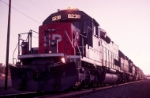 SP 8238 at sunset, Oct. 1994