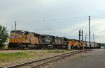 UP 4969, 6289, KCS 4004, RSSX 8951, and NECR 2681 at SW Junction