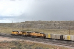 UP 5662 and 7002 at Black Thunder Mine