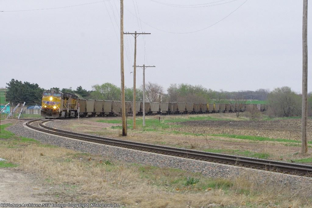 UP 6023 west