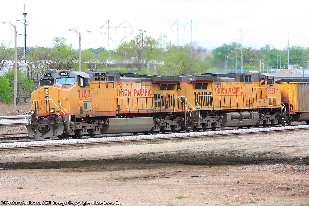 UP 7182 east