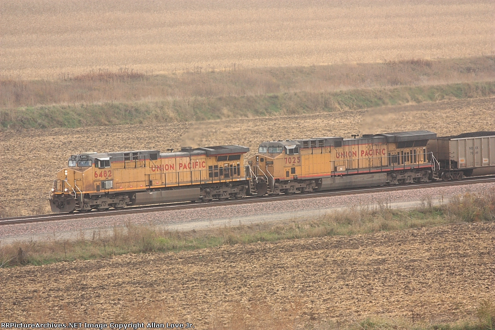 UP 6482 east