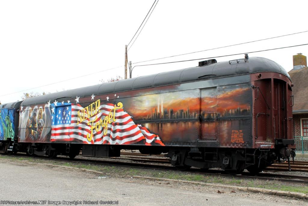 9-11 remembrance car