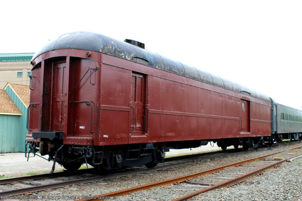 Ex LIRR baggage car