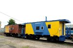 LIRR cabooses C-63 & C-64