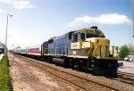 251 takes the siding  at LD