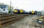 Five GP-38s in the Yard