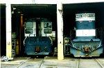 EMD SW1001 #102 and ALCO C-420 #225