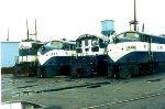 Four LIRR Units