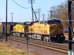 Pair of UP AC44CWs Pull EB Coal Train