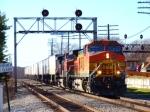 EB BNSF TOFC, Rochelle Railroad Park