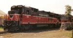 PW 4001 B40-8 (Ex NYS&W 4008 ) w/ PW3006 B30-7AB (ex BN 4021) 