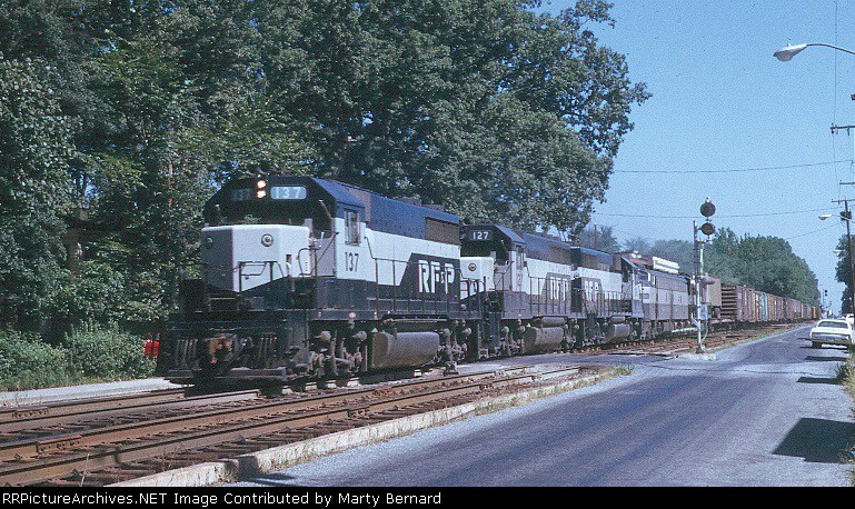 RF&P 137 with Considerable Help in August 1969