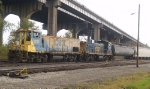 Kicking Cars (Flat Switching) in Gentilly Yard