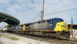 CSX 699 and 7645 Working Yard at Mobile