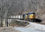 CSX 834 and 565 on the old Clinchfield RR (this is a better version)