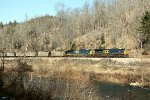 CSX 834 and 565 on the old Clinchfield RR