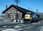 BALTIMORE AND OHIO RAILROAD FREIGHT STATION