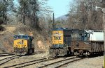 CSX 899 and 8627