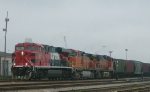 FXE 4634, a GE, Leads Two BNSF Sisters on CSX