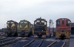 Seaboard Coast Line(up) at SAL Yard