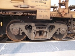 Doublestack car truck detail