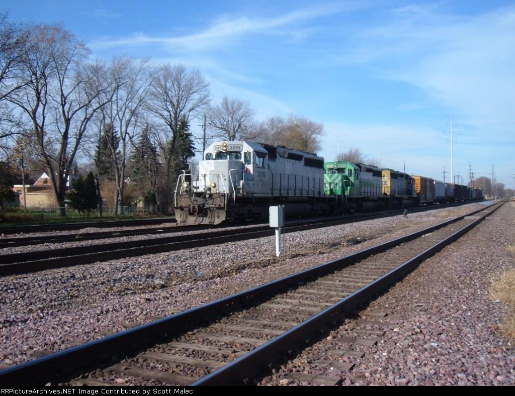 GCFX 3099, FURX 3005 & CSX 8406