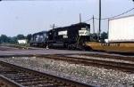 North bound CR train