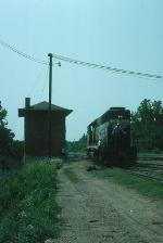 Richmond, Fredericksburg and Potomac Railroad EMD GP40 No. 126